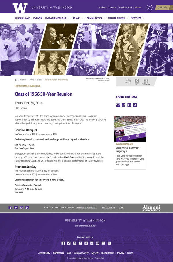 Class of 1966 50 Year Reunion Web Page